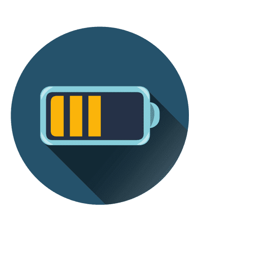 Battery png transparent. Circle icon svg vector