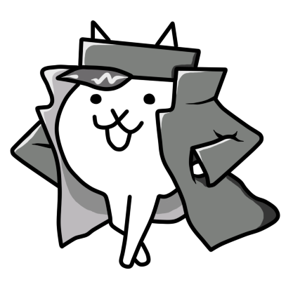 Battle cats png. Delinquent cat the by