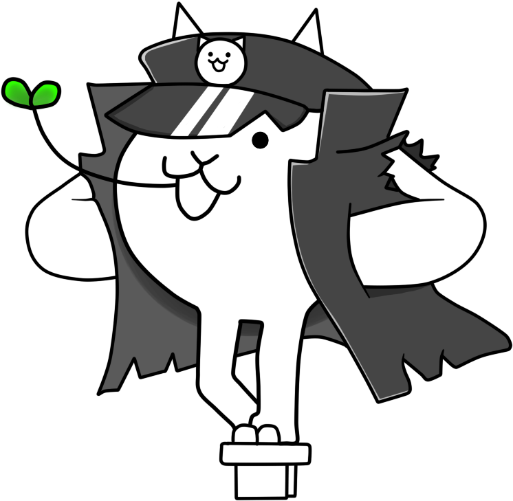 Battle cats png. Download angry delinquent cat