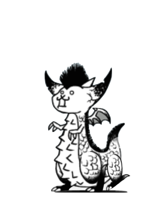 Battle cats png. Image crazed dragon king