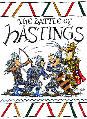 Battle clipart hastings clipart. History is a lie