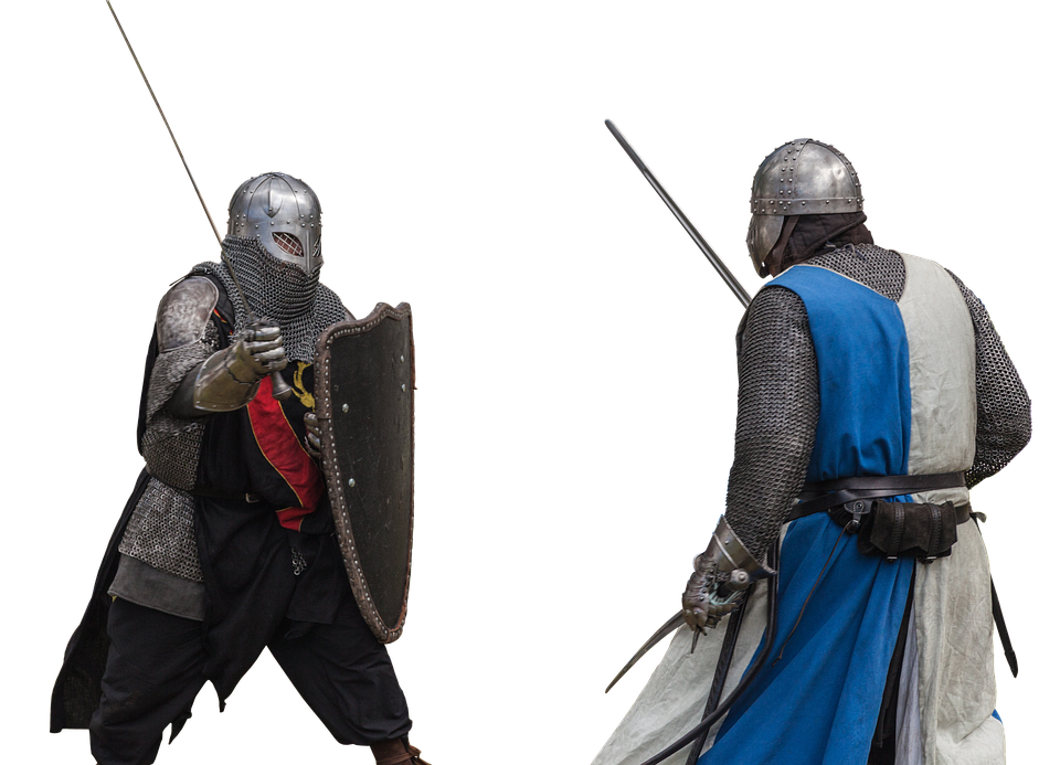 Battle clipart sword fight. Free photo knight clothing
