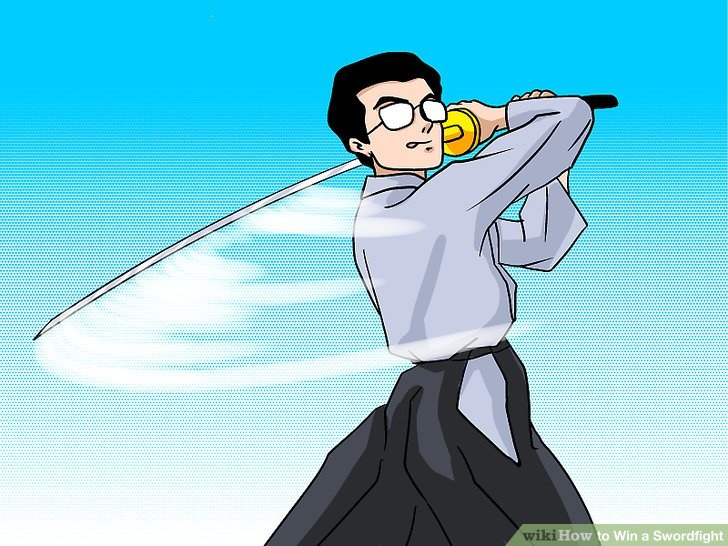 Battle clipart sword fight. How to win a