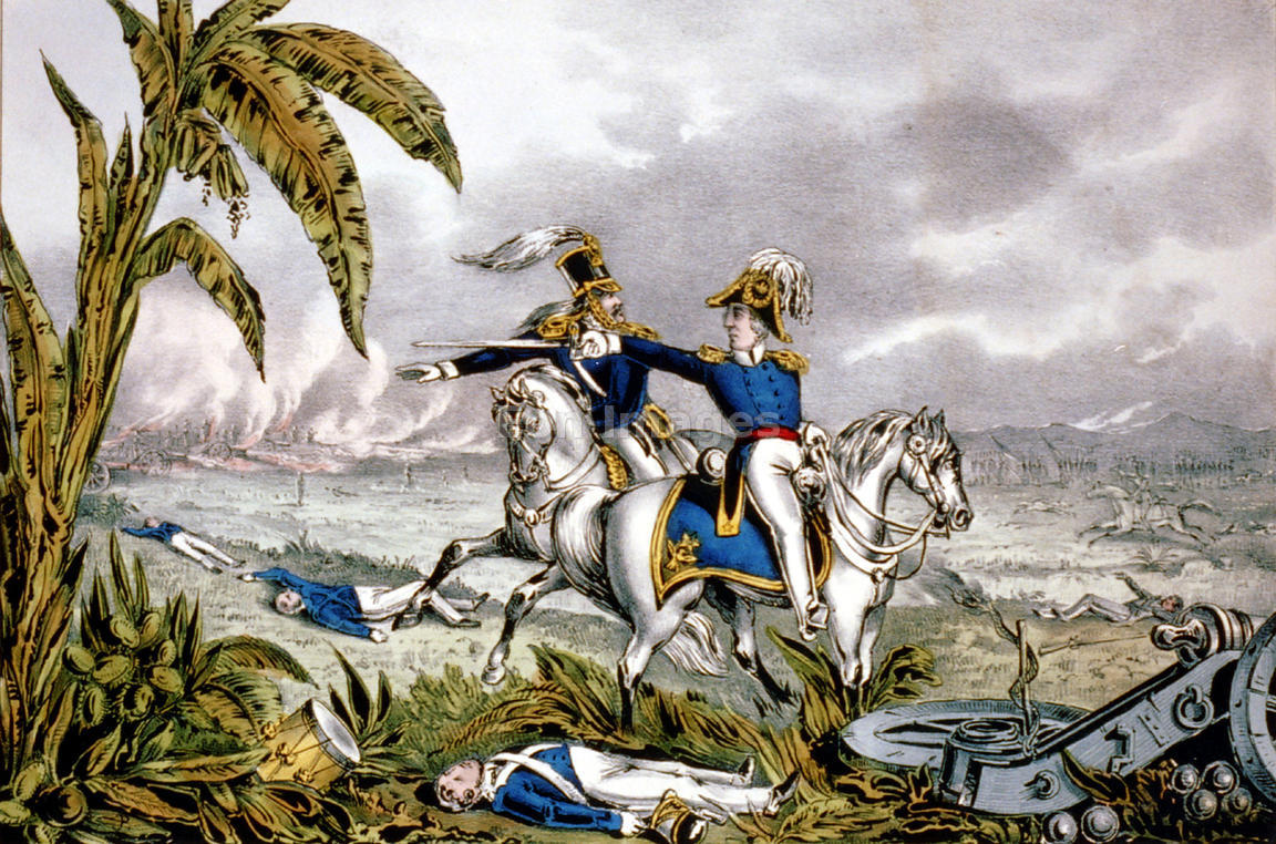 Battle clipart war mexican. Eon images zachary taylor