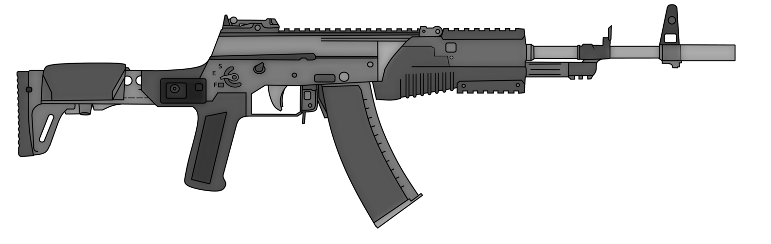 Battle rifle png. Ec by thefrozenwaffle on