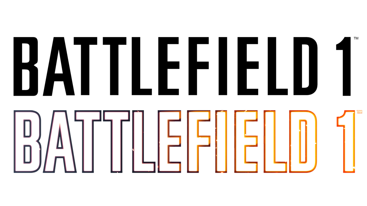 Battlefield 1 logo png. Clean transparent by muusedesign