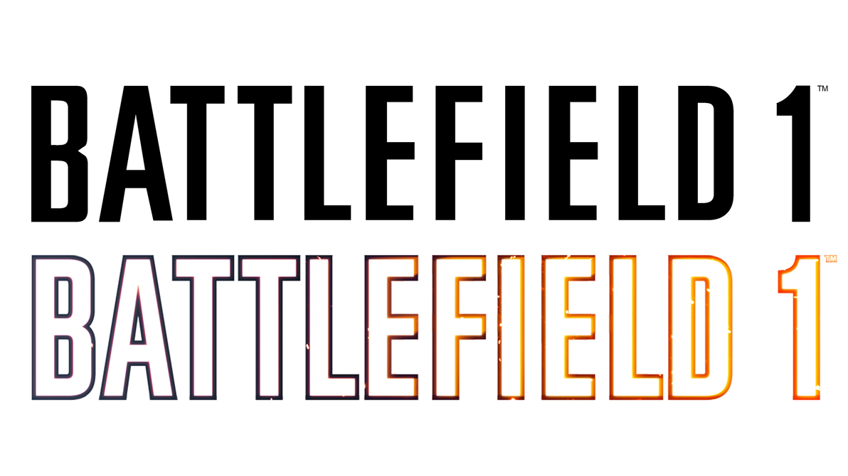 Clean transparent by muusedesign. Battlefield 1 logo png svg library