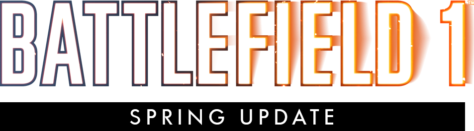 Update notes spring. Battlefield 1 logo png banner black and white