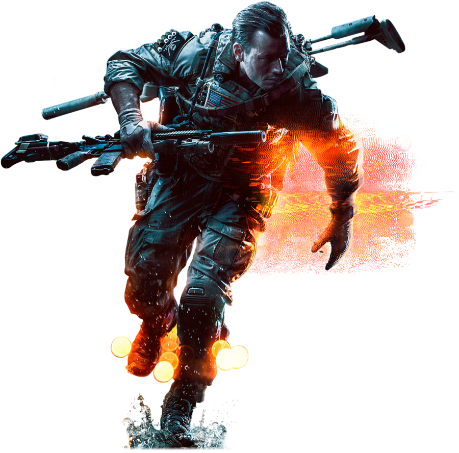 Battlefield 4 soldier png. Image by virtualcinematics d