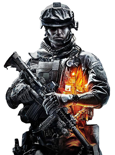 Battlefield 3 png. Ps games playstation a