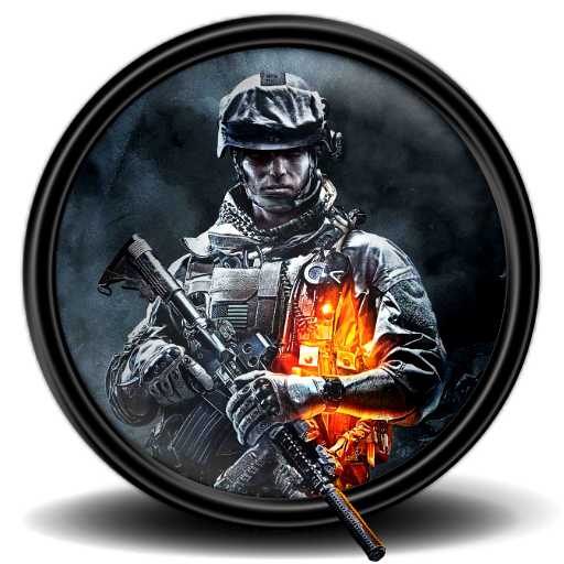 Icon game icons softicons. Battlefield 3 png picture royalty free stock