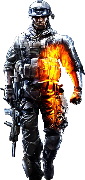 Image render by lightingft. Battlefield 3 png picture stock