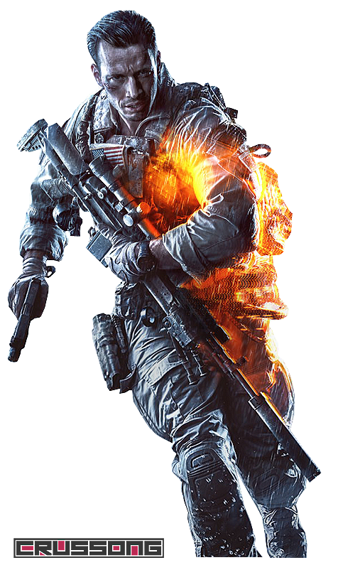 Keyart character render by. Battlefield 4 background png clipart transparent download