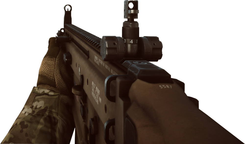 first person gun png