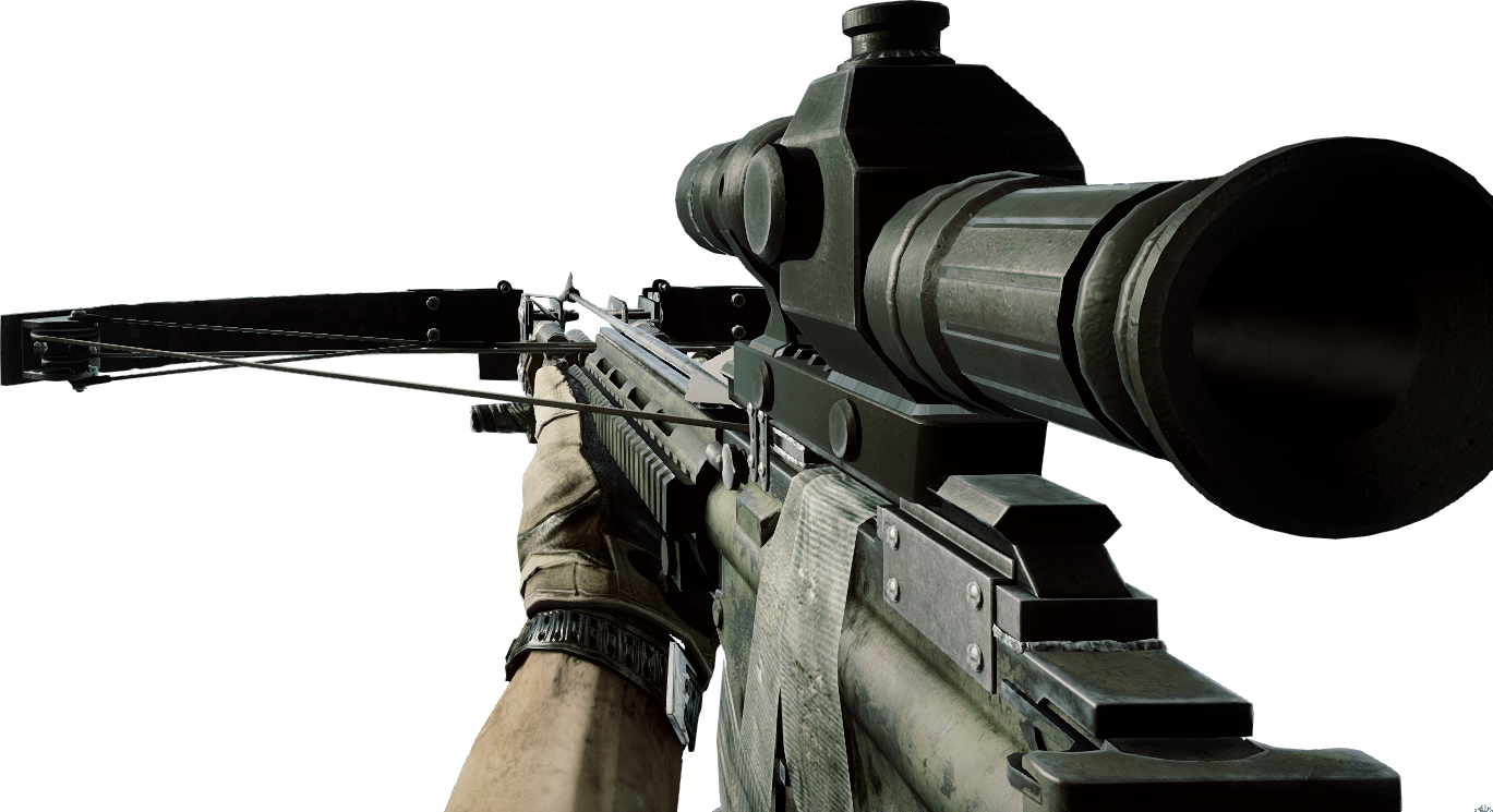 Battlefield 4 gun png. Image crossbow x bf