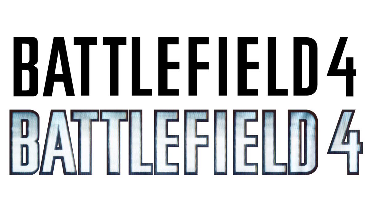 Official render by muusedesign. Battlefield 4 logo png picture transparent library
