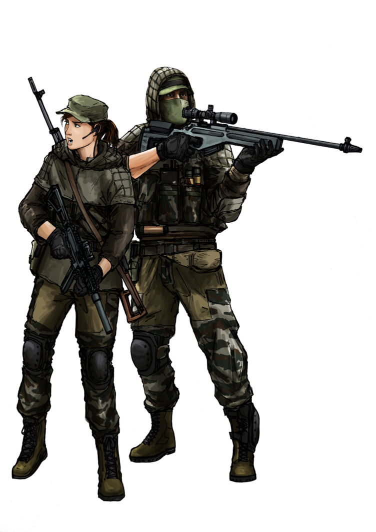 Bf ru recon class. Battlefield 4 sniper png clipart library library