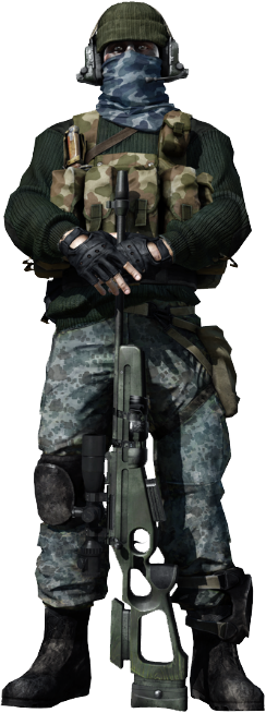 Battlefield 4 sniper png. History of the recon