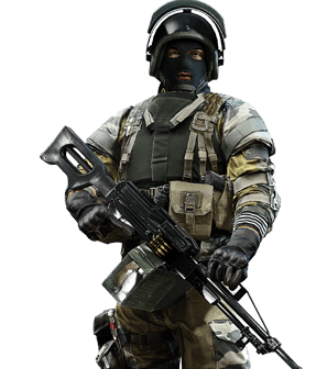 Battlefield 4 soldier png. Image