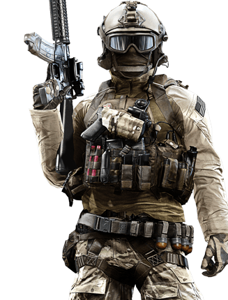 Battlefield 4 soldier png. Stats onecheesymofo