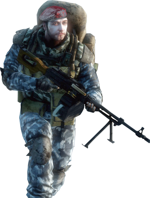 Favourite bf soldier skin. Battlefield transparent medic clip black and white