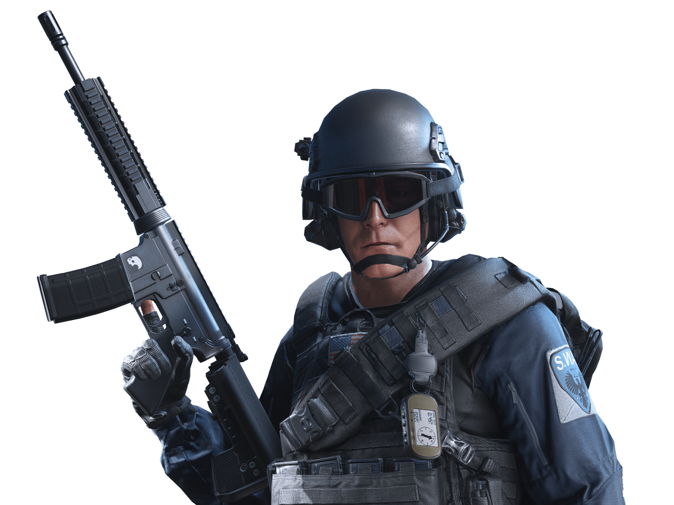 Battlefield transparent. Hardline soldier png stickpng