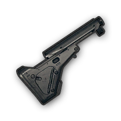 Tactical for m playerunknown. M4 vector stock clip black and white stock