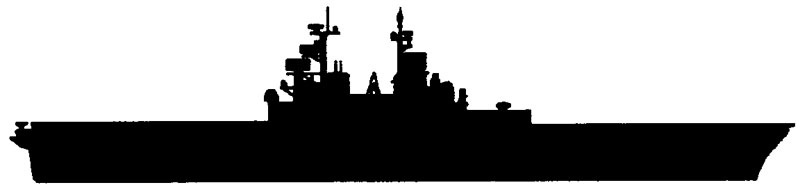 Battleship clipart. Silhouette at getdrawings com
