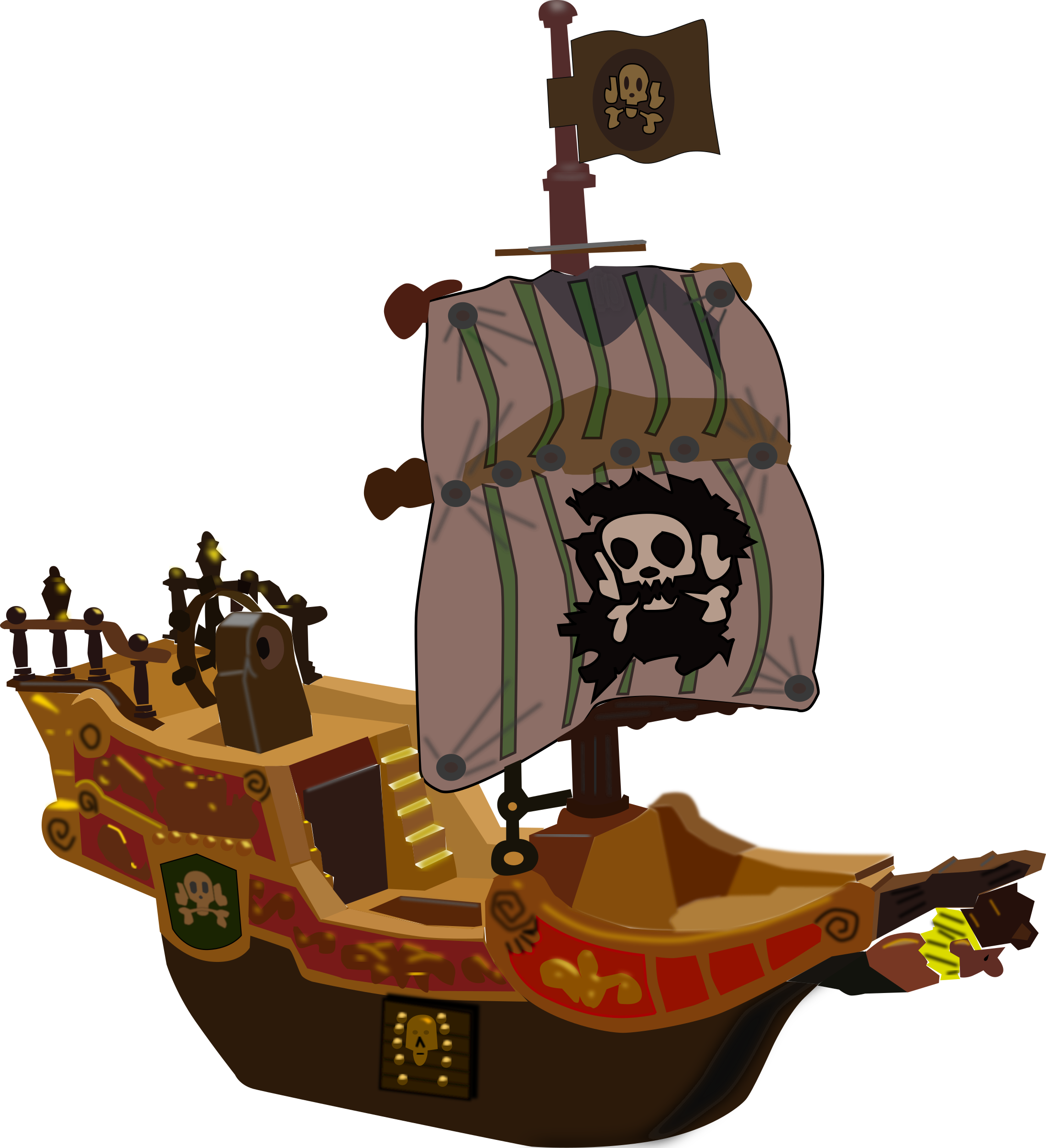 Pirate ship png