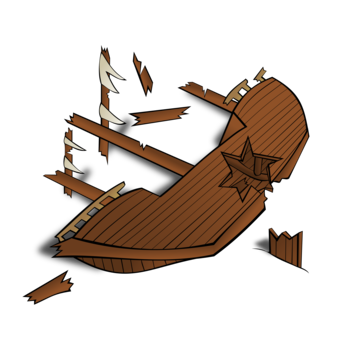 Battleship clipart wreck. Pirate ship drawing privateer