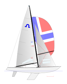 Bay drawing sailboat. Soling wikipedia