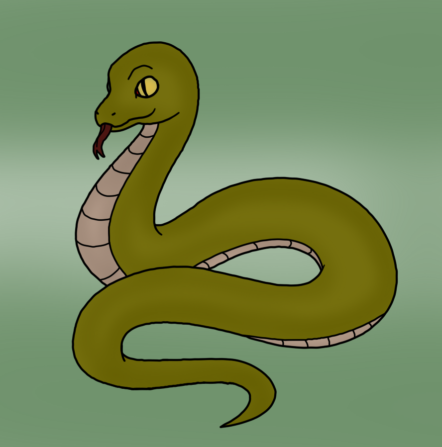 Snake by mrsouthbay on. Bay drawing simple jpg library download