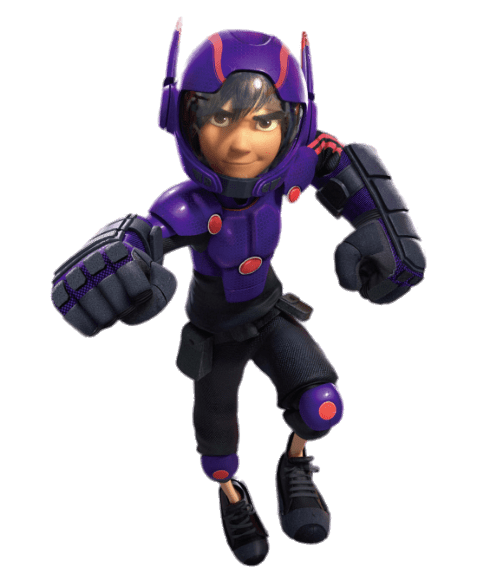 Character transparent big hero 6. Hiro in armour png