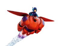Baymax transparent battle armor. Prelude hiro and vs