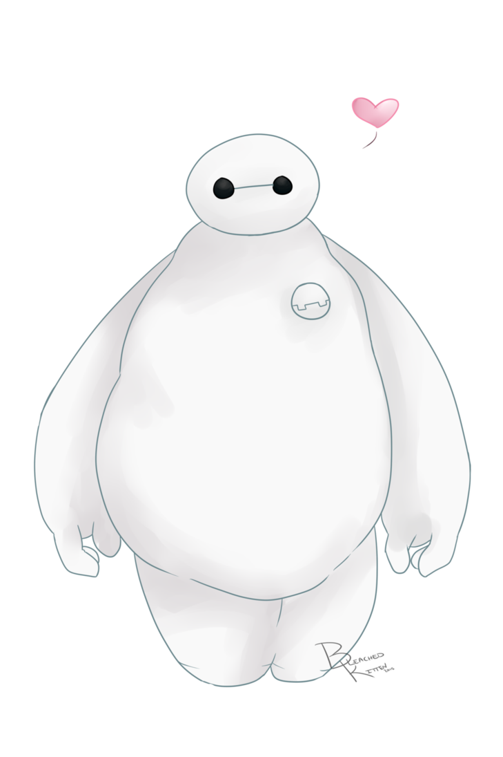 Baymax transparent thank you. Loves by bleachedkitten on