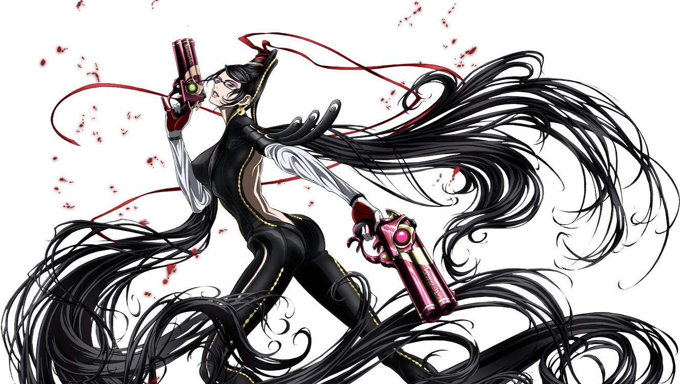 Bayonetta drawing. Image bloody fate bayo