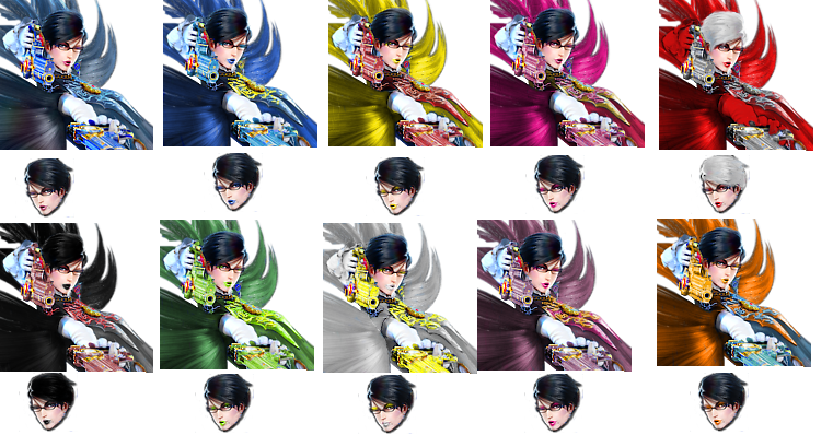 Bayonetta drawing face. Summons the climax updated