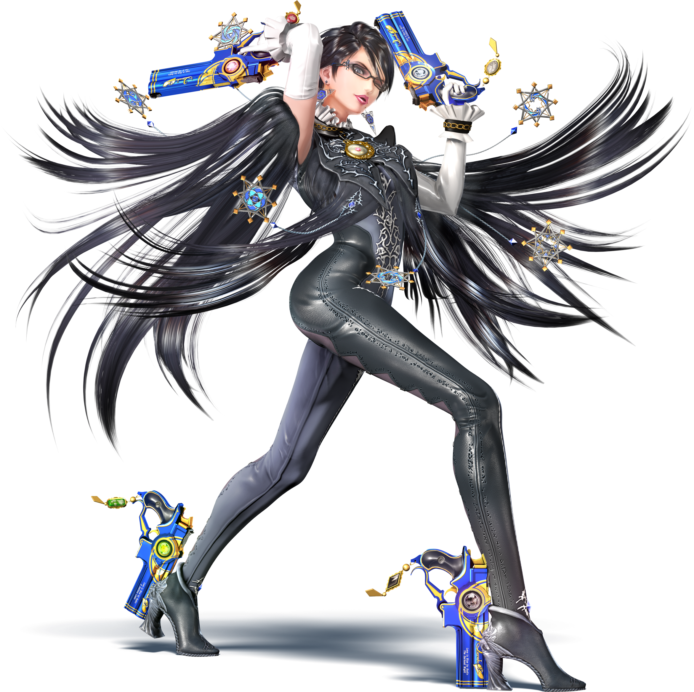 bayonetta drawing 16 bit