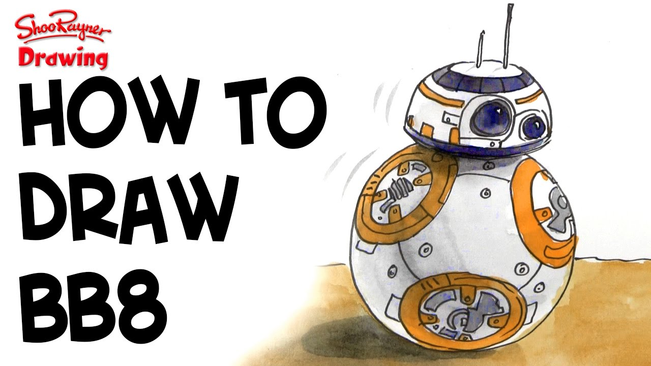 How to bb star. Bb8 clipart easy draw clip art
