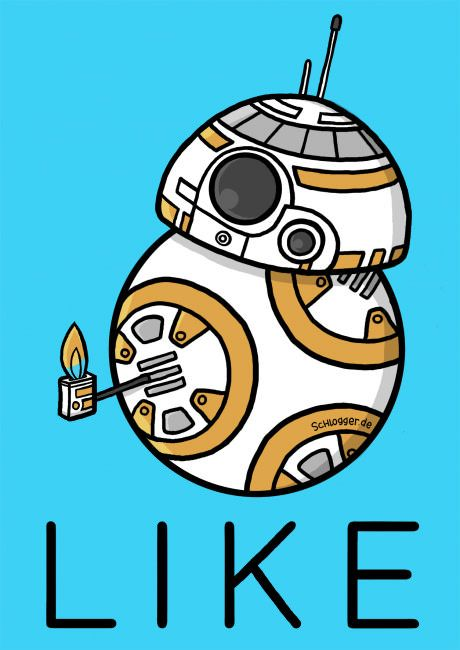 Bb8 clipart love. Bb giving you a