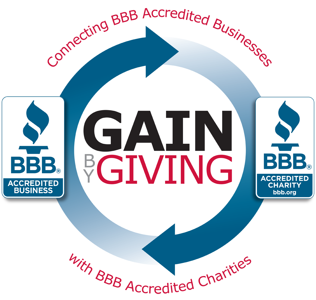 Bbb accredited business logo png. Gain by giving many