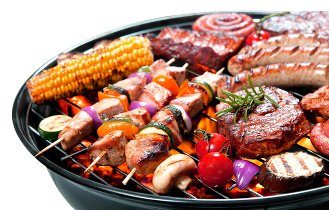 Barbecue grill png.