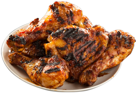 Bbq chicken png. Home plate e x