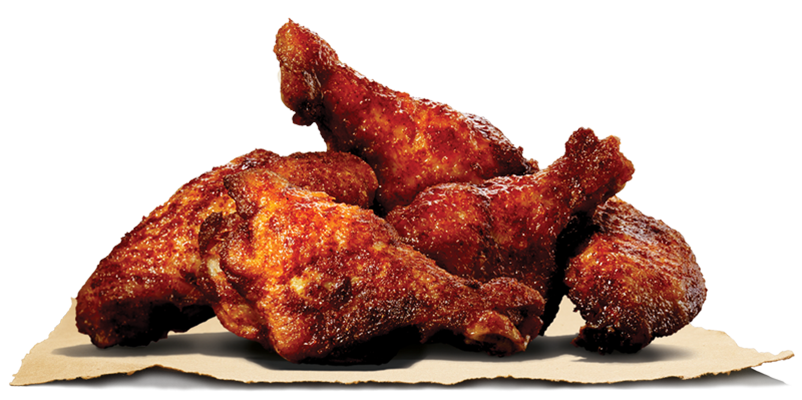 Bbq chicken png. Wings burger king bangladesh