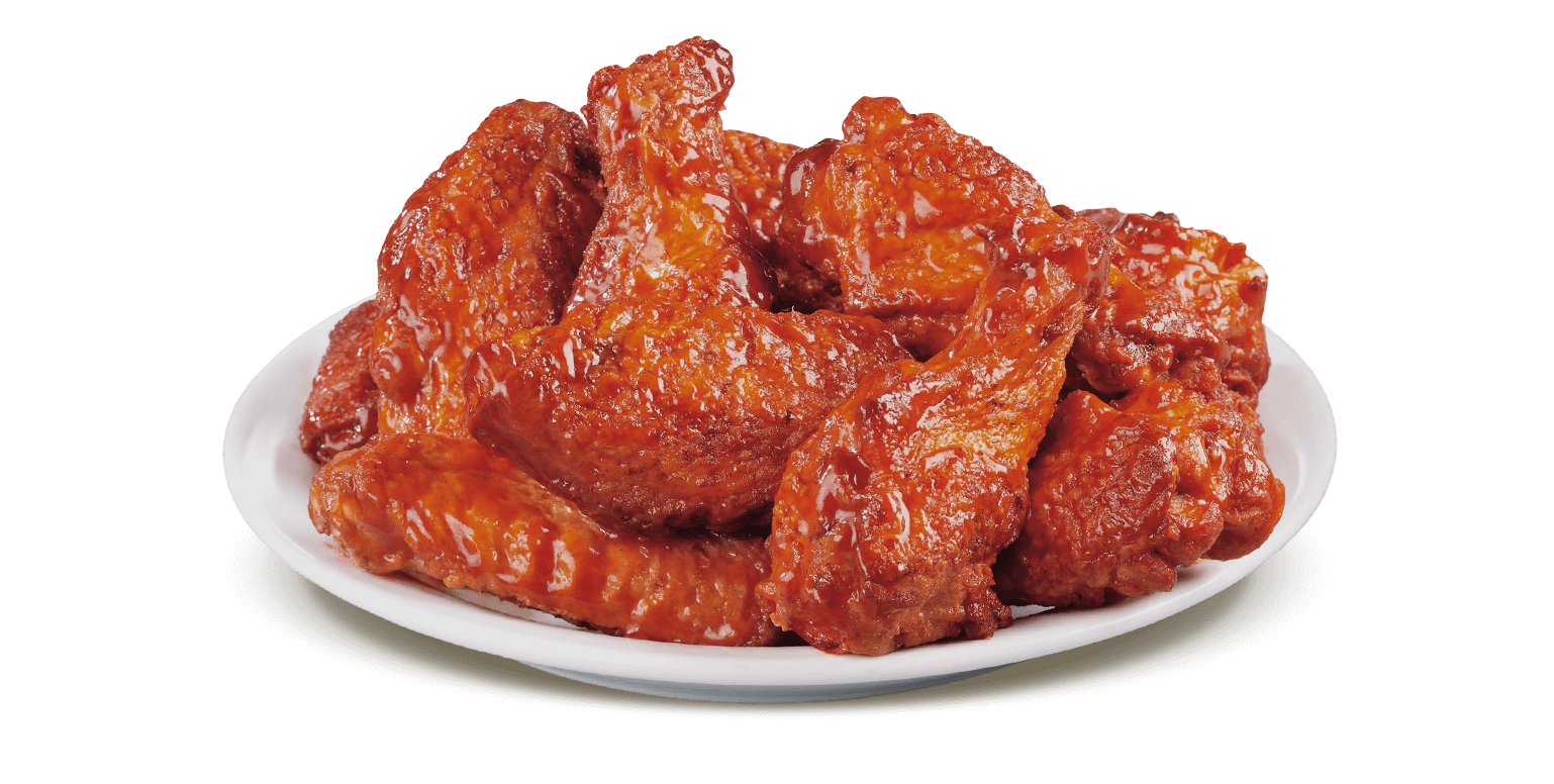 Bbq chicken wings png.