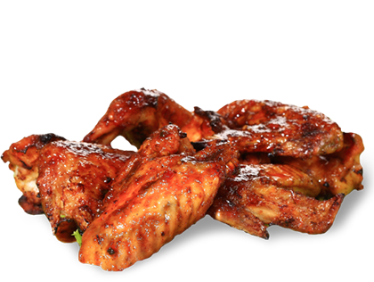 Bbq chicken wings png. Precooked barbeque