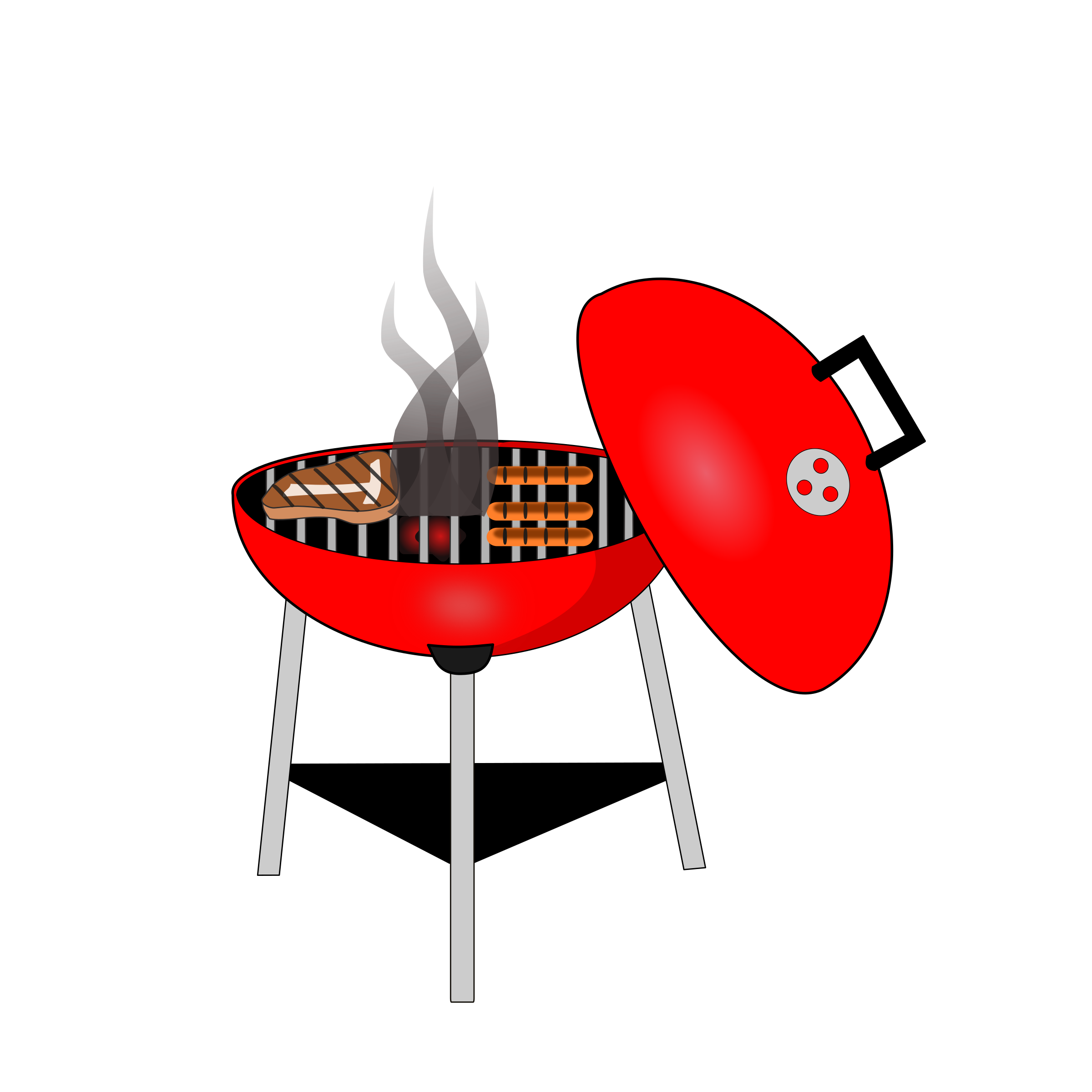 Bbq grill png. Red icons free and