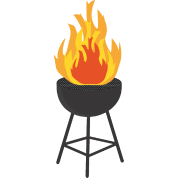 Grill flames png. Bbq on fire maternity