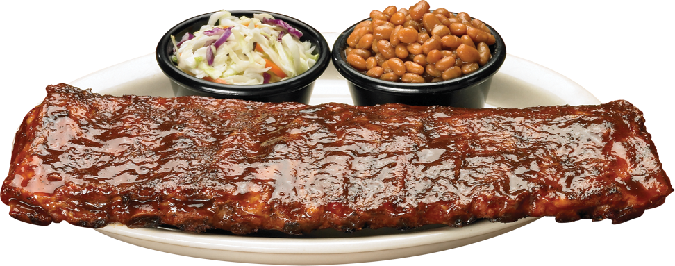 plate of bbq png