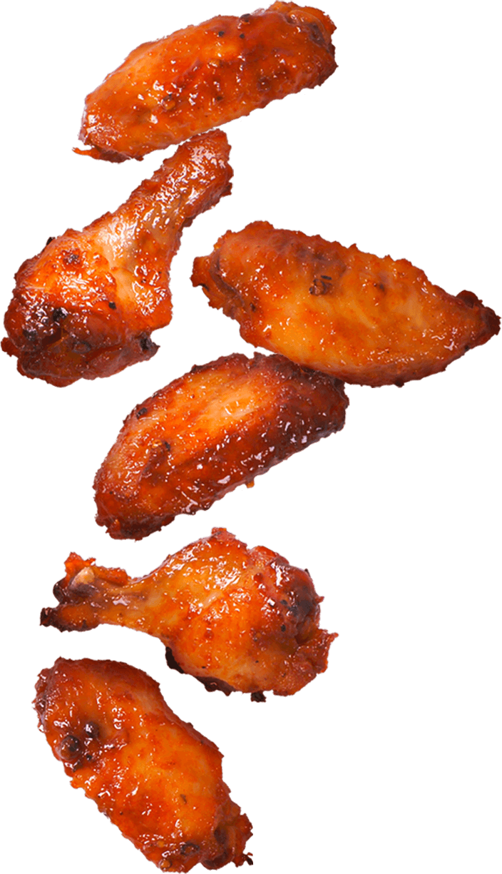 Chicken wings png. Our menu near me
